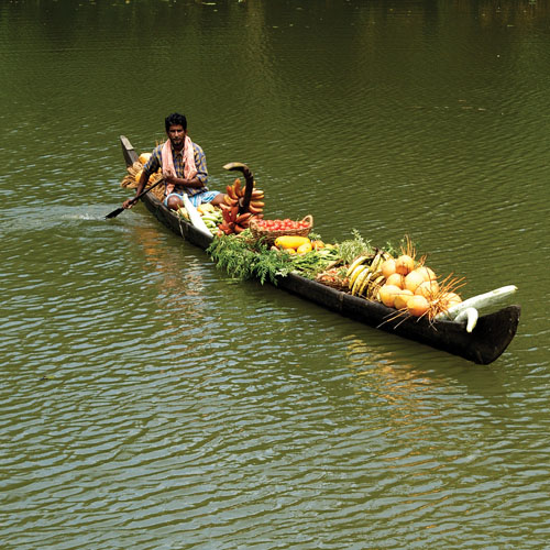 Vegetables Salesman  MyHouseboats.com